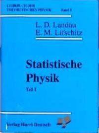 Abbildung von Landau / Lenk / Lifschitz   Statistische Physik   8., ber. Aufl.   1991