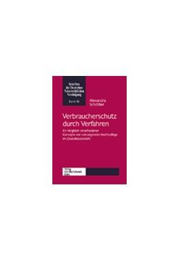 Abbildung von Schöttler | Verbraucherschutz durch Verfahren | 2003 | Ein Vergleich verschiedener Ko... | 16