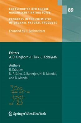 Abbildung von Kräutler / Sahu   Fortschritte der Chemie organischer Naturstoffe / Progress in the Chemistry of Organic Natural Products   1. Auflage   2008   89   beck-shop.de