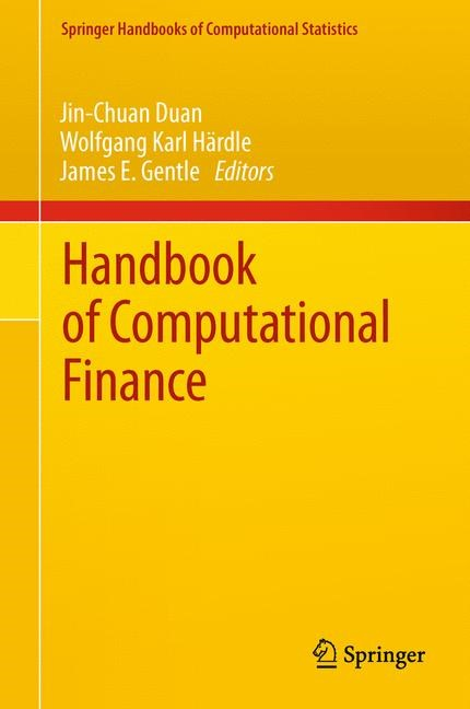 Handbook of Computational Finance | Duan / Härdle / Gentle, 2011 | Buch (Cover)