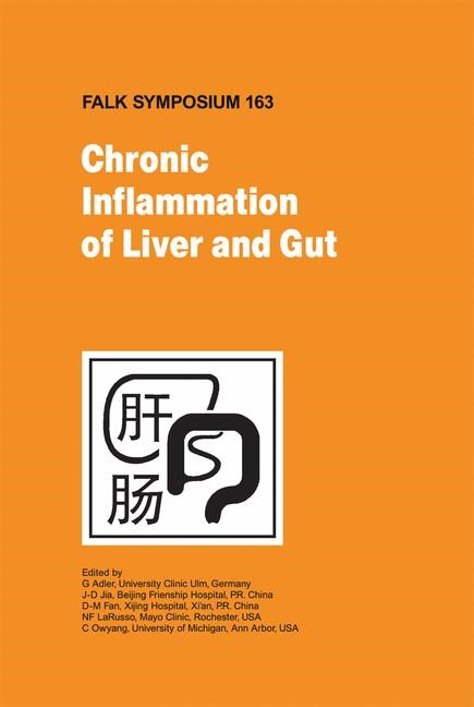 Chronic Inflammation of Liver and Gut | Adler / Fan / Jia / LaRusso / Owyang, 2008 | Buch (Cover)
