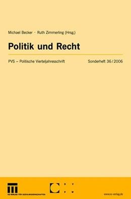 Abbildung von Becker / Zimmerling | Politik und Recht | 2006