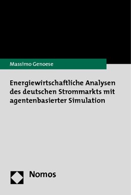 Abbildung von Genoese | Energiewirtschaftliche Analysen des deutschen Strommarkts mit agentenbasierter Simulation | 2010