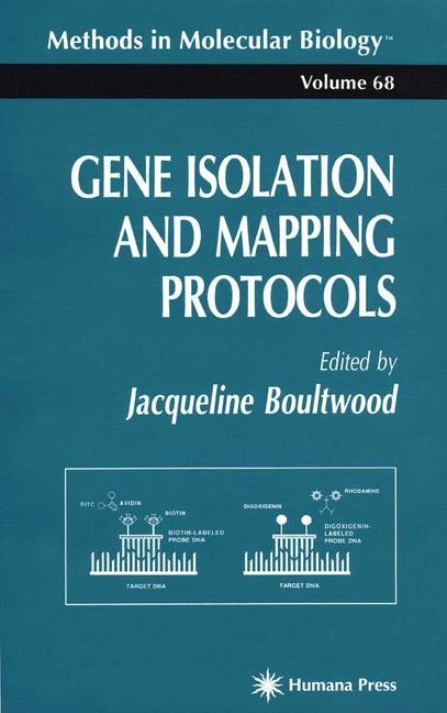 Gene Isolation and Mapping Protocols | Boultwood, 1996 | Buch (Cover)