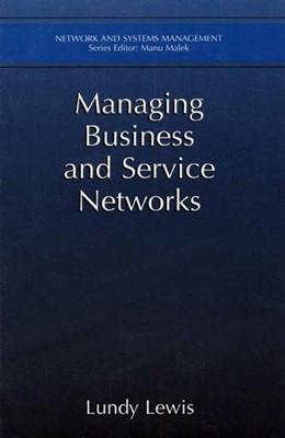 Abbildung von Lewis | Managing Business and Service Networks | 2001