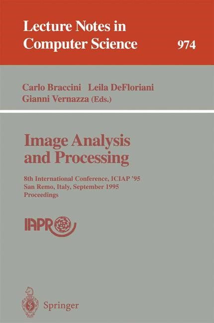 Image Analysis and Processing | Braccini / DeFloriani / Vernazza, 1995 | Buch (Cover)