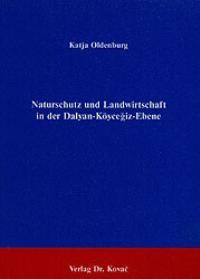 Naturschutz und Landwirtschaft in der Dalyan-Köycegiz-Ebene | Oldenburg, 1993 | Buch (Cover)