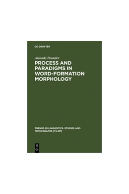 Abbildung von Pounder | Process and Paradigms in Word-Formation Morphology | Reprint 2011 | 2000 | 131