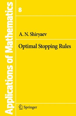 Abbildung von Shiryaev | Optimal Stopping Rules | 1st ed. 1978. 2nd printing | 2007 | 8