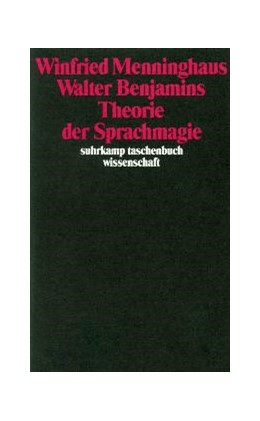 Abbildung von Menninghaus | Walter Benjamins Theorie der Sprachmagie | 1995 | 1168