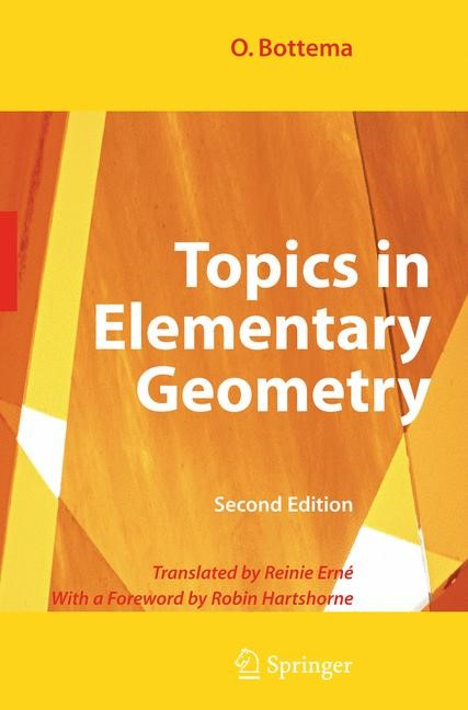 Topics in Elementary Geometry | Bottema, 2008 | Buch (Cover)