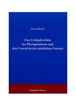 Abbildung von Gillbricht | Eine Frühjahrsblüte des Phytoplanktons und ihre Umwelt in der nördlichen Nordsee | 2001 | 64