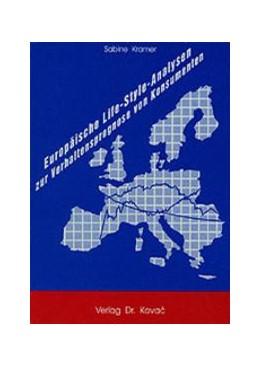 Abbildung von Kramer | Europäische Life-Style-Analysen zur Verhaltensprognose von Konsumenten | 1991