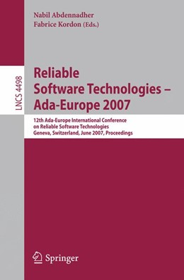 Abbildung von Abdennahder / Kordon | Reliable Software Technologies - Ada-Europe 2007 | 2007 | 12th Ada-Europe International ... | 4498