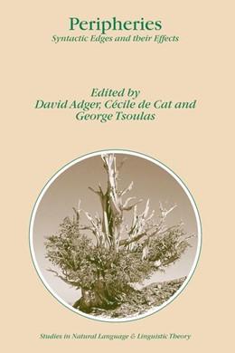 Abbildung von Adger / de Cat / Tsoulas | Peripheries | 2004 | Syntactic Edges and their Effe... | 59