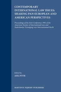 Abbildung von Contemporary International Law Issues: Sharing Pan-European and American Perspectives | 1992