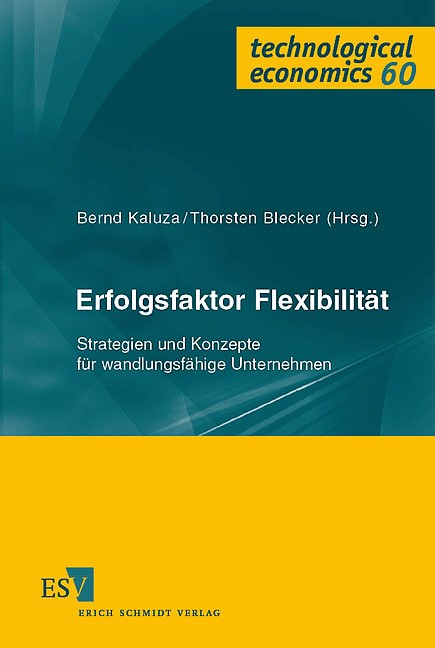 Erfolgsfaktor Flexibilität | Kaluza / Blecker, 2004 | Buch (Cover)