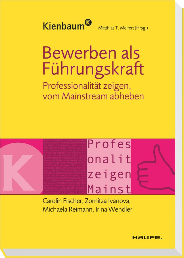 Bewerben als Führungskraft   Fischer / Ivanova / Reimann   1. Auflage 2011, 2011   Buch (Cover)