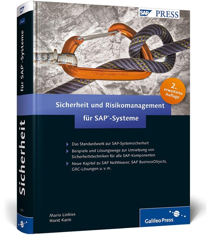 Sicherheit und Risikomanagement für SAP-Systeme | Linkies / Karin | 2., aktualisierte und erweiterte Auflage 2010, 2010 | Buch (Cover)
