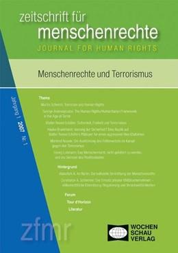 Abbildung von Debus / Kreide   Menschenrechte und Terrorismus   1. Auflage   2007   beck-shop.de