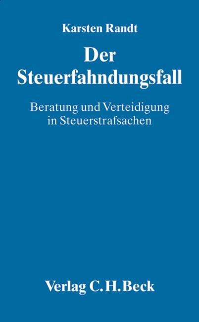 Der Steuerfahndungsfall | Randt, 2004 | Buch (Cover)