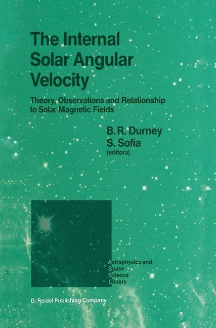 The Internal Solar Angular Velocity | Durney / Sabatino, 1987 | Buch (Cover)