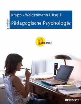 Abbildung von Krapp / Weidenmann | Pädagogische Psychologie | 5., vollständig überarbeitete Aufl. | 2006