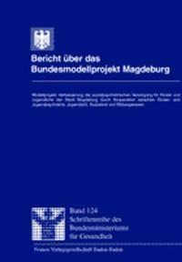Bericht über das Bundesmodellprojekt Magdeburg | / Herden / Jungmann / Brandt / Lorenzen, 2000 | Buch (Cover)