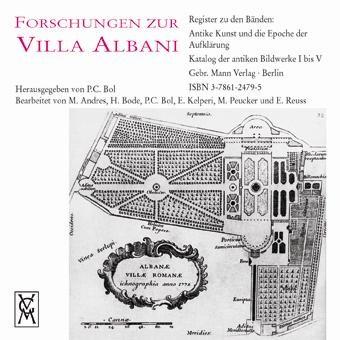 Abbildung von Bol | Register zu den Bänden: Antike Kunst und die Epoche der Aufklärung, Katalog der antiken Bildwerke I bis V | 2004