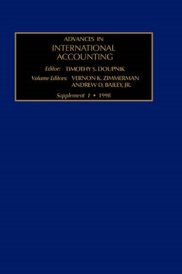 Abbildung von Zimmerman / Bailey | The Evolution of International Accounting Standards in Transitional and Developing Economies | 1998 | V