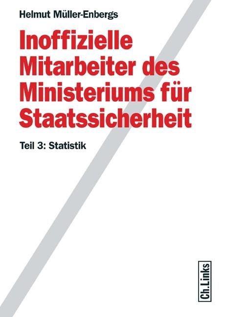 Inoffizielle Mitarbeiter des Ministeriums für Staatssicherheit | Müller-Enbergs, 2008 | Buch (Cover)
