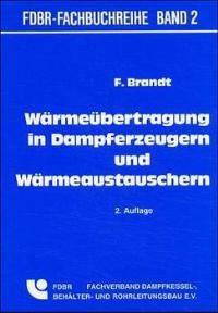 Wärmeübertragung in Dampferzeugern und Wärmeaustauschern | Brandt, 2004 | Buch (Cover)