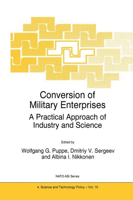 Conversion of Military Enterprises | Puppe / Sergeev / Nikkonen, 1996 | Buch (Cover)