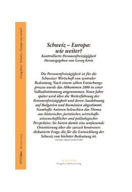 Abbildung von Kreis   Ausverkauf der Schweiz?   2009   Kontrollierte Personenfreizügi...