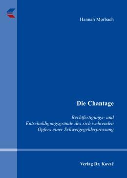 Abbildung von Morbach   Die Chantage   2007   Rechtfertigungs- und Entschuld...   109