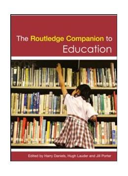 Abbildung von Daniels / Lauder | The Routledge Companion to Education | 1. Auflage | | beck-shop.de