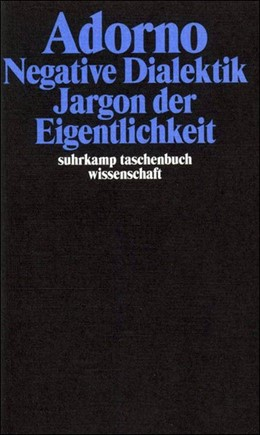 Abbildung von Adorno | Gesammelte Schriften in 20 Bänden | 2003 | Band 6: Negative Dialektik. Ja... | 1706