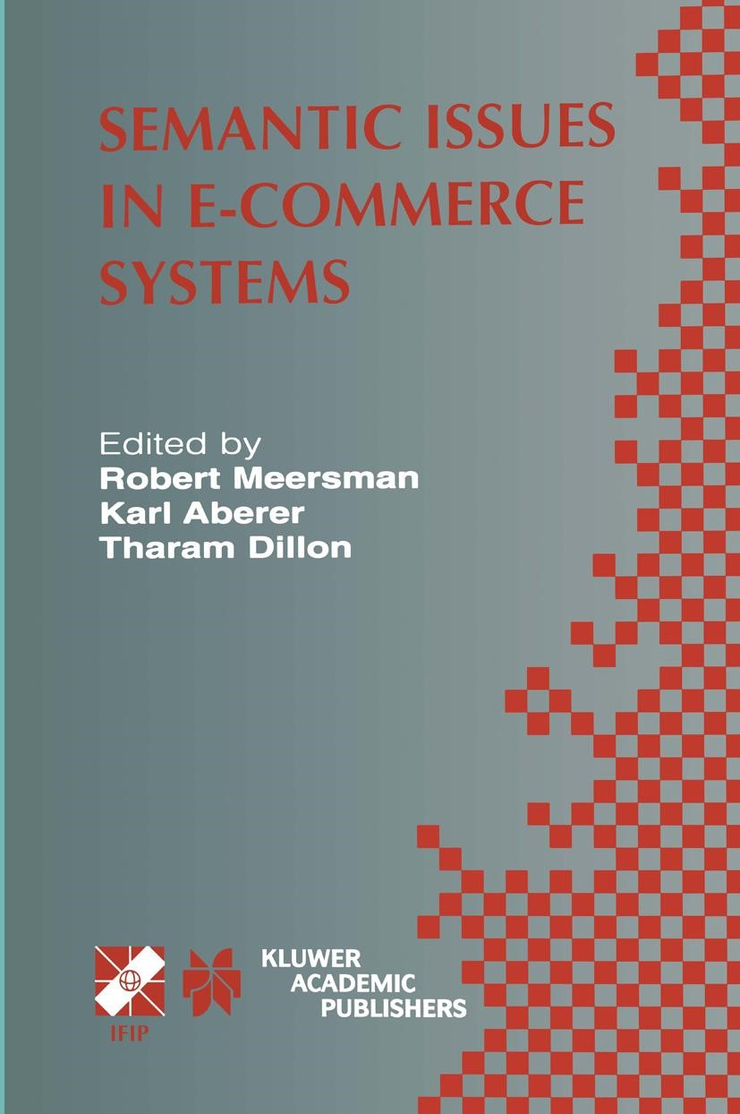 Semantic Issues in E-Commerce Systems | Aberer, 2002 | Buch (Cover)
