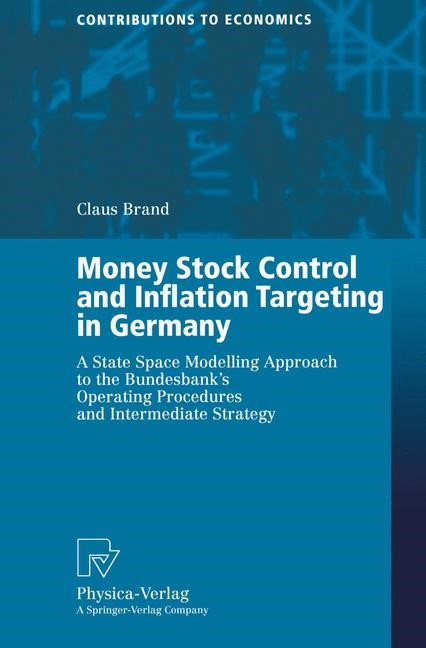 Money Stock Control and Inflation Targeting in Germany | Brand, 2001 | Buch (Cover)