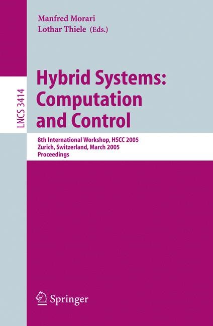 Hybrid Systems: Computation and Control | Morari / Thiele / Rossi, 2005 | Buch (Cover)