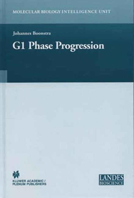 Regulation of G1 Phase Progression | Boonstra, 2003 | Buch (Cover)