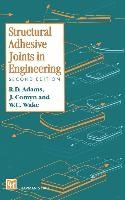 Structural Adhesive Joints in Engineering | Adams / Comyn / Wake, 1997 | Buch (Cover)