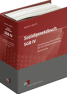 Abbildung von Hauck / Noftz | Sozialgesetzbuch (SGB) IV: Gemeinsame Vorschriften für die Sozialversicherung • ohne Aktualisierungsservice | 1. Auflage | 2020 | beck-shop.de