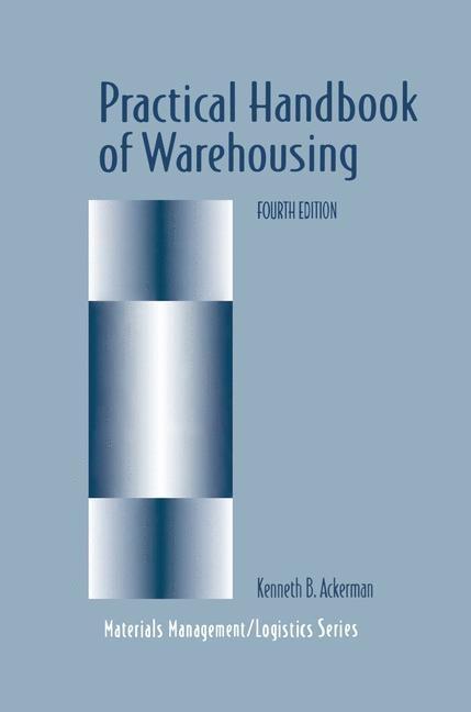 Practical Handbook of Warehousing | Ackerman | 4th ed., 1997 | Buch (Cover)
