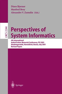 Abbildung von Bjørner / Broy / Zamulin | Perspectives of System Informatics | 2001 | 4th International Andrei Ersho... | 2244