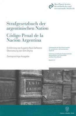 Abbildung von Das Strafgesetzbuch der argentinischen Nation / Código Penal de la Nación Argentina | 2. Auflage | 2009 | 119 | beck-shop.de