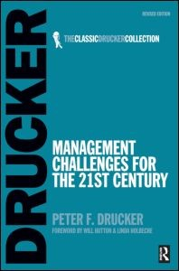 Management Challenges for the 21st Century | Drucker | 2nd edition, 2007 | Buch (Cover)
