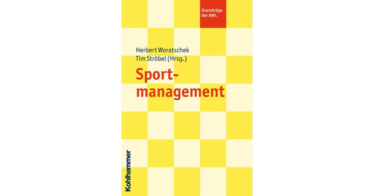 Sportmanagement | Ströbel / Woratschek, 2020 | Buch | beck-shop.de