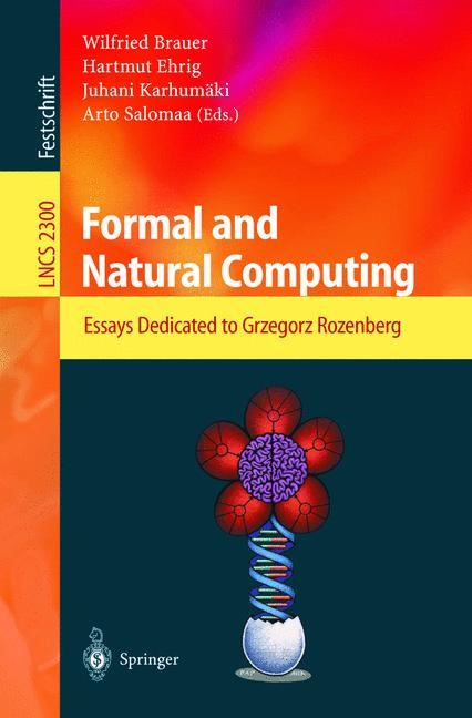 Formal and Natural Computing | Brauer / Ehrig / Karhumäki / Salomaa, 2002 | Buch (Cover)