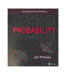 Abbildung von Pitman | Probability | 199., corrected 7th printing | 1993